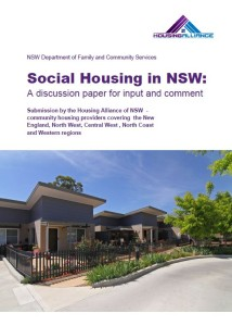 HA submission to Social Housing in NSW