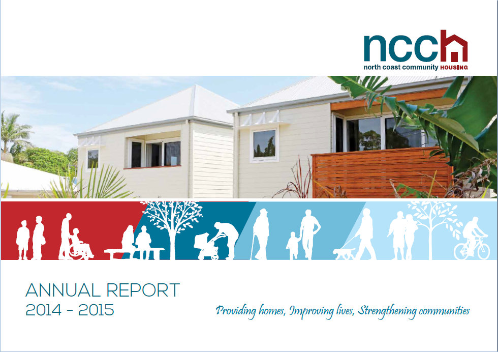 Cover for 2014-15 Annual Report