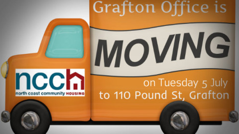 NCCH Grafton Office Moving to 110 Pound St Grafton, NSW