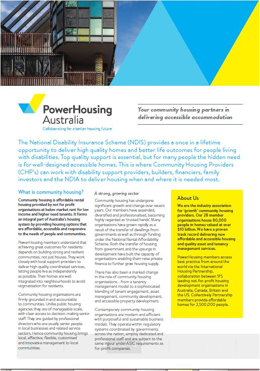NDIS Consulting Publication_Housing cover