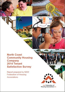 NCCH Tenant Satisfaction Survey 2014 cover